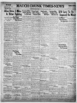 Mauch Chunk Times-News