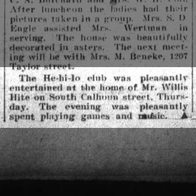 Herman O. Bandtel, Sat. Sept. 1, 1906 p.4 part 1