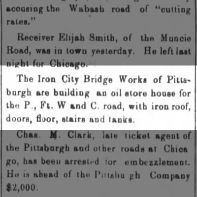 Iron City Bridge Company