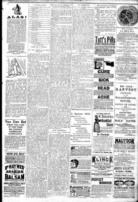 Logansport Pharos-Tribune from Logansport, Indiana on February 14, 1891 · Page 7