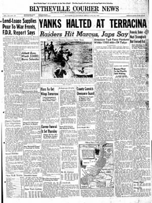 The Courier News from Blytheville, Arkansas on May 22, 1944 · Page 1