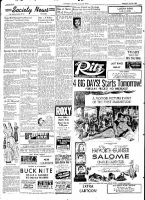 The Courier News from Blytheville, Arkansas on May 25, 1953 · Page 4