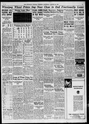 The Winnipeg Tribune from Winnipeg,  on August 29, 1931 · Page 11