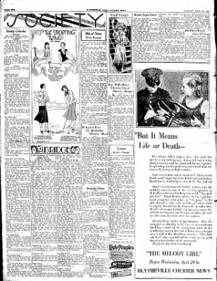The Courier News from Blytheville, Arkansas on April 28, 1931 · Page 2
