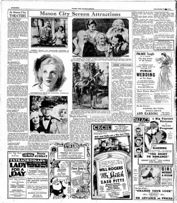The Mason City Globe-Gazette from Mason City, Iowa on December 23, 1933 · Page 14