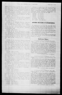 Official Gazette of the United States Patent Office from Washington, District of Columbia on February 5, 1924 · Page 8