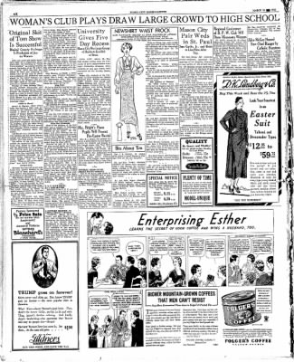 The Mason City Globe-Gazette from Mason City, Iowa on March 28, 1934 · Page 6