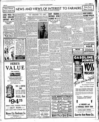The Mason City Globe-Gazette from Mason City, Iowa on March 28, 1934 · Page 12