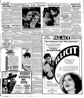 The Mason City Globe-Gazette from Mason City, Iowa on March 7, 1931 · Page 12
