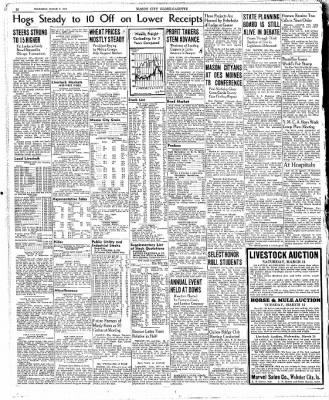 The Mason City Globe-Gazette from Mason City, Iowa on March 9, 1939 · Page 20