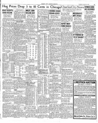 The Mason City Globe-Gazette from Mason City, Iowa on March 16, 1939 · Page 21