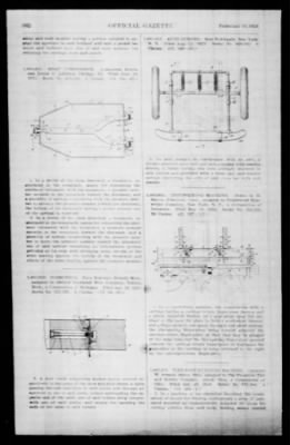 Official Gazette of the United States Patent Office from Washington, District of Columbia on February 19, 1924 · Page 92