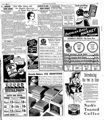 The Mason City Globe-Gazette from Mason City, Iowa on April 3, 1931 · Page 13