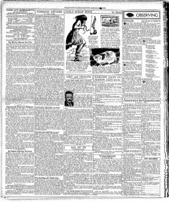 The Mason City Globe-Gazette from Mason City, Iowa on March 22, 1937 · Page 4