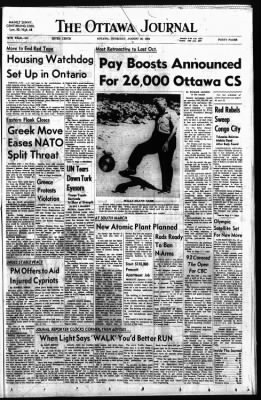 The Ottawa Journal from Ottawa,  on August 20, 1964 · Page 1