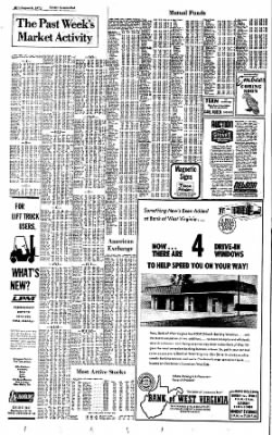 Sunday Gazette-Mail from Charleston, West Virginia on August 6, 1972 · Page 34