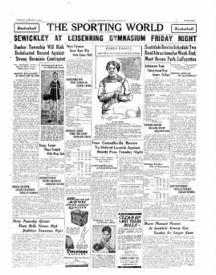 The Daily Courier from Connellsville, Pennsylvania on January 27, 1930 · Page 9