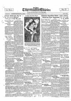 The Daily Courier from Connellsville, Pennsylvania on January 22, 1938 · Page 1