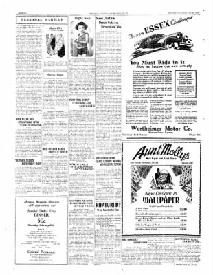The Daily Courier from Connellsville, Pennsylvania on February 26, 1930 · Page 6