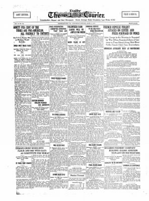 The Daily Courier from Connellsville, Pennsylvania on June 12, 1918 · Page 1