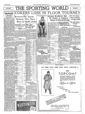 The Daily Courier from Connellsville, Pennsylvania on March 11, 1938 · Page 16