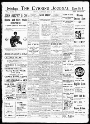 The Ottawa Journal from Ottawa,  on July 3, 1897 · Page 1
