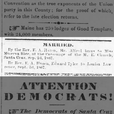IMUS-RICE wedding 1867