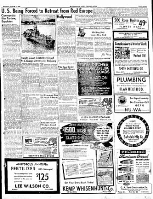 The Courier News from Blytheville, Arkansas on March 6, 1950 · Page 9