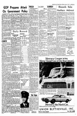 The Courier News from Blytheville, Arkansas on January 17, 1967 · Page 7