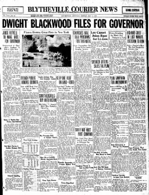 The Courier News from Blytheville, Arkansas on May 9, 1932 · Page 1