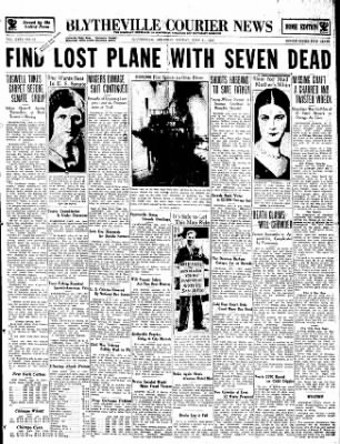 The Courier News from Blytheville, Arkansas on June 11, 1934 · Page 1