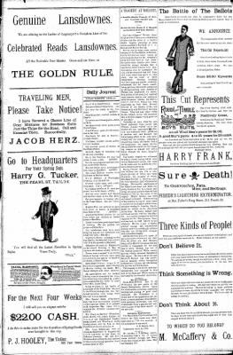 Logansport Pharos-Tribune from Logansport, Indiana on April 24, 1891 · Page 8