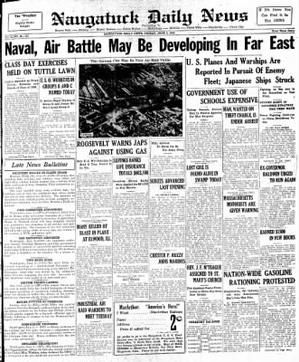 Naugatuck Daily News from Naugatuck, Connecticut on June 5, 1942 · Page 1