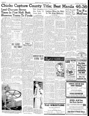 The Courier News from Blytheville, Arkansas on March 1, 1941 · Page 6