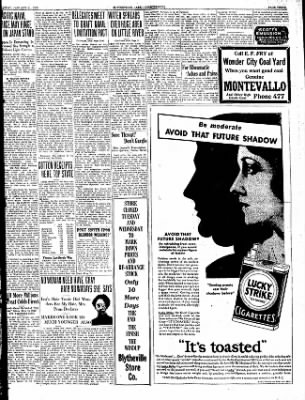 The Courier News from Blytheville, Arkansas on January 21, 1930 · Page 3