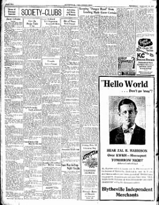 The Courier News from Blytheville, Arkansas on February 12, 1930 · Page 2