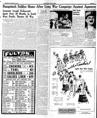 Naugatuck Daily News from Naugatuck, Connecticut on August 17, 1944 · Page 5