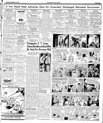 Naugatuck Daily News from Naugatuck, Connecticut on August 18, 1944 · Page 7