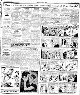 Naugatuck Daily News from Naugatuck, Connecticut on August 24, 1944 · Page 7