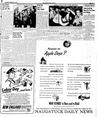 Naugatuck Daily News from Naugatuck, Connecticut on August 29, 1944 · Page 5