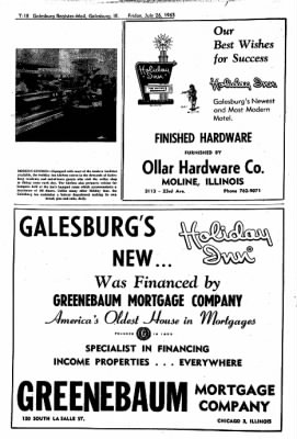 Galesburg Register-Mail from Galesburg, Illinois on July 26, 1963 · Page 39