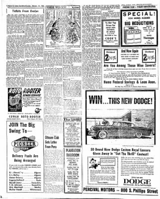 The Algona Upper Des Moines from Algona, Iowa on February 10, 1955 · Page 20