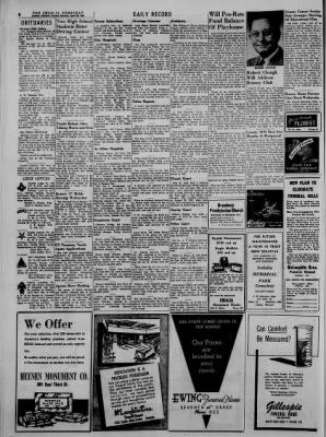 The Sedalia Democrat from Sedalia, Missouri on April 22, 1956 · Page 6