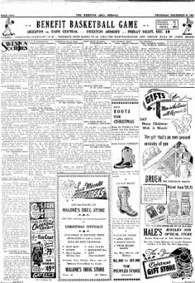 The Sikeston Herald from Sikeston, Missouri on December 18, 1941 · Page 2