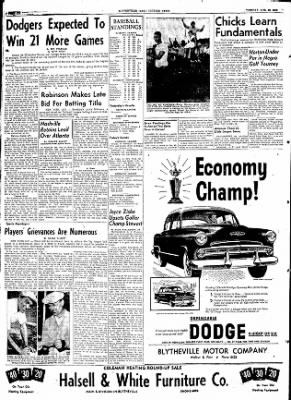 The Courier News from Blytheville, Arkansas on August 25, 1953 · Page 6