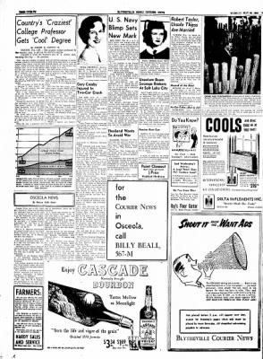 The Courier News from Blytheville, Arkansas on May 25, 1954 · Page 12