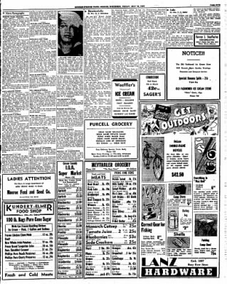 Monroe Evening Times from Monroe, Wisconsin on July 18, 1947 · Page 5