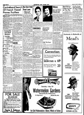 The Courier News from Blytheville, Arkansas on May 28, 1954 · Page 12