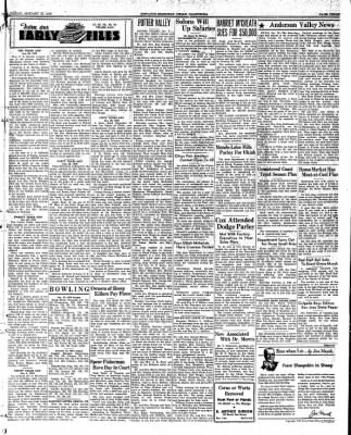Ukiah Dispatch Democrat from Ukiah, California on January 23, 1948 · Page 3