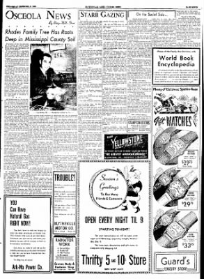 The Courier News from Blytheville, Arkansas on December 9, 1953 · Page 7
